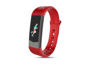 Smartband for iPhone Android, Fitness Tracker Watch with Heart Rate Monitor Pedometer Sleep Track, 3D Dynamic Colorful Screen