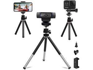 Extendable Desk Webcam Stand,Portable Sport Camera Tripod,Adjustable Android/iPhone Holder. Compatible with GoPro Hero,Logitech and Nexigo Webcam.