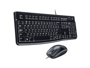 USB Mouse and keyboard Combo - New Logitech Desktop MK120 Durable, Comfortable, With a comfortable, quiet keyboard that's sleek yet sturdy and a high-definition 1000 DPI optical mouse
