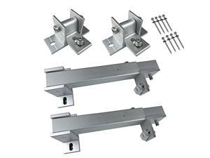 Smarkey Adjustable Solar Panel Roof Tilt Mounting Brackets for Roof, Marine, RV, Boat and Any Flat Surface,Support 100W/150W/200W/300W Panel