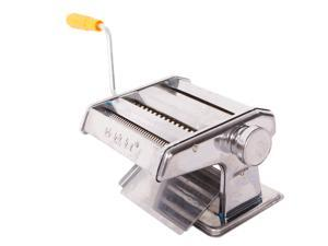 Pasta Maker Machine Hand Crank,Roller Cutter Noodle Makers ,for Homemade Noodles Spaghetti Fresh Dough Making Tools Rolling Press Kit - Stainless Steel Kitchen Accessories Manual Machines