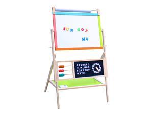 Magnetic All in One Kids Drawing Painting Chalk Board Artist Easel Large Size