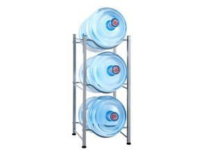 Bottle Storage 3-Tier Water Cooler Jug Rack Water Rack Detachable Heavy Rack