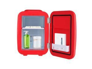 ZOKOP MFA-5L-B AC 120V / DC 12V 5L/0.175cuft Portable Small Refrigerator, Hot and Cold Box Red