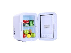 Magace Electric Mini Portable Fridge Cooler & Warmer,6 Liter / 0.21 Cuft / 8 Can AC/DC Portable Thermoelectric System
