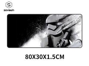 80x30cm Star Wars Gaming Mouse Pad XXL Computer Mousepad Large XL Rubber Desk Keyboard Mouse Pad Mat Gamer for Call of Duty 3 Gaming Mouse Pad 01