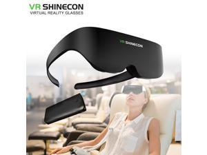 Shinecon VR Headset AI08 Giant Screen Same Screen Stereo Cinema 3D Glasses Pro Virtual Reality VR For iPhone Android Smartphone