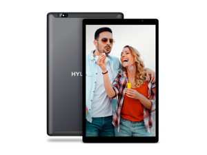 "Hyundai HyTab Plus 10WB1 10.1"" Wi-Fi Tablet IPS Quad Core Processor 2GB/32GB Android 10 Space Grey"