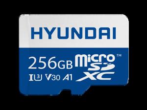 Hyundai MicroSD 256GB U3 4K Retail w/Adapter