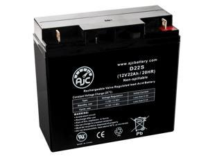Golden Hawk 12V 22Ah Wheelchair Replacement Battery - This is an AJC Brand Replacement