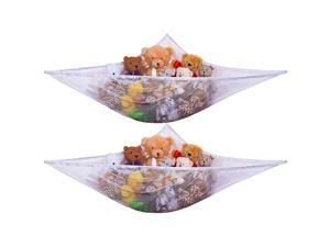 URBAN KIT Stuffed Animal Storage Hammock(2 Pack) stuffed Animals storage