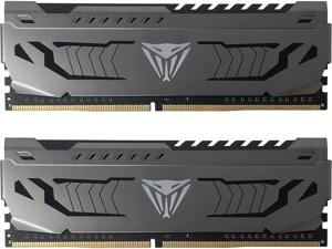 Patriot Viper Steel 16GB (2 x 8GB) 288-Pin DDR4 3000MHz (PC4 24000) Desktop Memory Model PVS416G300C6K