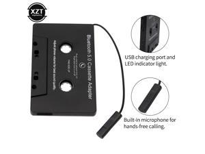 Universal Bluetooth 5.0 Converter Car Tape MP3/SBC/Stereo Audio Cassette For Aux Adapter Smartphone Cassette Adapter