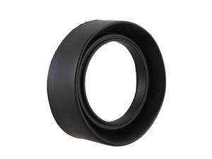 52mm 3-Stage Collapsible Rubber Lens Hood For Canon 50/1.8 Nikon 18-55 50/1.8D