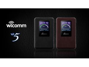 Wicomm Global WiFi High speed 4G Mobi le Global Roaming for 146 Countries (No sim required)
