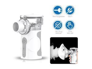 Wellue Air Force Medical Equipment Pocket Inhaler ultrasonic Portable Mesh Nebulizer For Homecare