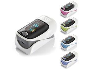 Digital OLED Fingertip Pulse Oximeter RZ001 SPO2 Pulse Rate Oxygen Monitor Blood Pressure Monitors (Mix Color)