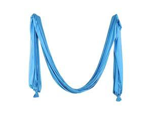 Pilates Yoga Flying Swing Aerial Yoga Hammock Silk Fabric Sky Blue