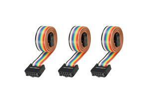3pcs 10 Pin Female LCD Screen Flat Ribbon Cable for Ender 3 / 3 Pro