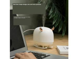 Deer Portable Air Humidifiers Adjustable Mist Desktop Cool Mist Humidifier