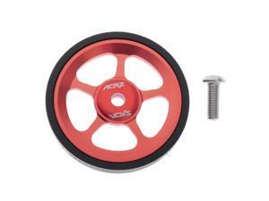 Premium Folding Bike Easy Wheels Modified Easywheel for Brompton Red