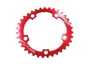Bike Chainring  35T/50T 110 BCD 9-11 Speed Chain Ring Chainwheel Red 35T