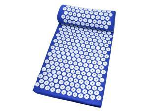 Sponge Massager Cushion Fitness Yoga Mat Back Body Acupuncture Pad Blue