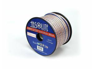 Absolute USA SWH12100 12 Gauge Car Home Audio Speaker Wire Cable Spool 100'