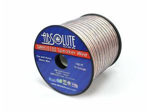 Absolute USA SWH10100 10 Gauge Car Home Audio Speaker Wire Cable Spool 100'