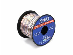 Absolute USA SWH18100 18 Gauge Car Home Audio Speaker Wire Cable Spool 100'