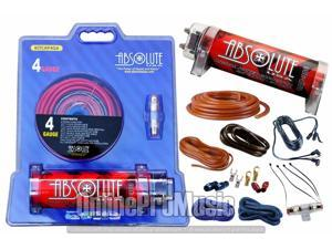Absolute USA RT2218R 22//18 Gauge Insulated Connectors Ring Terminal Absolute USA Inc.