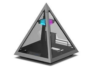 AZZA Pyramid 804V Innovative PC Case with 1 x 120mm Hurricane II Digital RGB Fan
