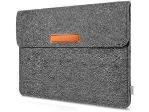 Inateck 10.5-11 Inch Sleeve Case Compatible iPad Air 2020 10.9 Inch, iPad Pro 11 2020/2018, iPad 10.2 2020/2019, iPad Pro iPad Air 10.5 2019/ Surface Go 2 /iPad 9.7 and Other Tablets - Dark Gray