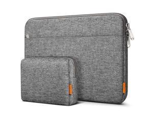 Inateck Laptop Case Sleeve Compatible MacBook Pro 16 Inch 2019/MacBook Pro 15 Inch 2013-2015/MacBook Pro 15 2016-2019/Surface Book 2/Surface Laptop 3/14 Inch Laptops, Gray