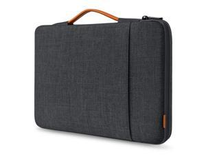 Inateck 15-15.6 Inch 360 Protection Shockproof Laptop Sleeve Carrying Case Bag Briefcase Compatible with 15.6 HP/Lenovo/Acer/ASUS/Dell Laptops Chromebooks Ultrabooks Netbooks