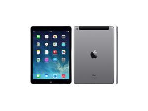 "Apple iPad Air MF009LL/A 64GB Apple A7 X2 1.4GHz 9.7"" Touch Verizon, Gray"