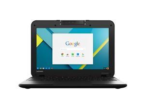 "Lenovo Chromebook N22 Series 11.6"" Touch 4GB 16GB Intel Celeron N3060 X2 1.6GHz, Black"