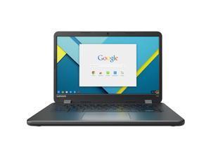 "Lenovo Chromebook N42-20 14"" 4GB 16GB Intel Celeron N3060 X2 1.6GHz Chrome OS, Black"