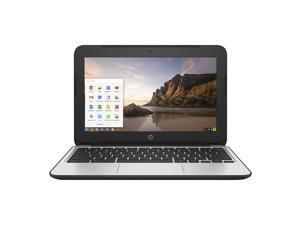 "HP Chromebook P0B76UT#ABA Intel Celeron N2840 X2 2.16GHz 4GB 16GB SSD 11.6"", Black"