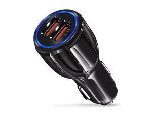 Dual USB 3.1A 12V Car Charger Adapter 3.0 Fast Charging For Android  USA