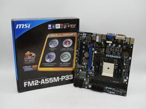 New boxed MSI  F2-A55M-P33 FM2 A55 motherboard all solid state support A10 5800K Complete original packaging accessories