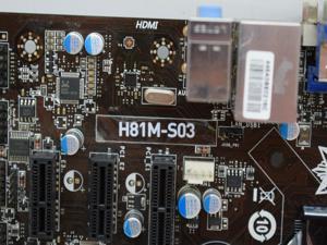 H81M-S03 1150 DDR3 intel VGA