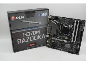 MSI H370M BAZOOKA LGA 1151 (300 Series) Intel H370 HDMI SATA 6Gb/s USB 3.1 Micro ATX Intel Motherboard