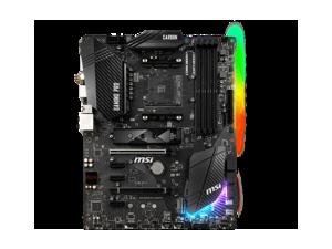 MSI B450 GAMING PRO CARBON AC AMD Socket B450 AM4 ATX M.2 ATX Desktop Motherboard