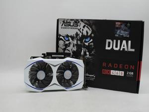 Asus Radeon RX 460 2GB Dual Video Graphics Card DUAL-RX460-O2G  DDR5