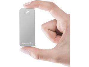 Sabrent Rocket Nano 1TB USB 3.2 Type-C 10Gb/s External Aluminum SSD (Silver) (SB-1TB-NANO)