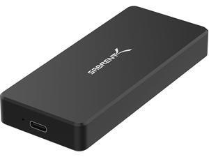 Sabrent USB Type-C Aluminum Enclosure for M.2 NVMe SSD in Black (EC-NVME-BLK)