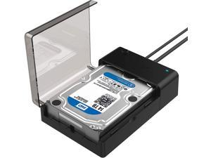 Sabrent USB 3.0 to SATA External Hard Drive Lay-Flat Docking Station for 2.5 or 3.5in HDD, SSD (EC-DFLT)