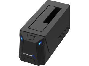 """Sabrent USB 3.0 to SATA External Hard Drive Docking Station for 2.5"""" or 3.5""""' HDD, SSD [Support UASP] (EC-UBLB)"""