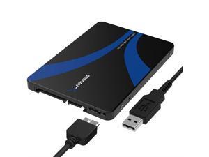 Sabrent mSATA to USB 3.0/2.5-Inch SATA III Aluminum Enclosure Adapter (EC-MSMU)